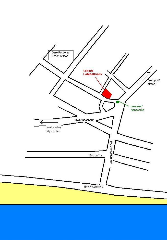 plattegrond CL en omgeving